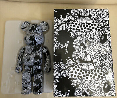 $208.99 • Buy Keith Haring Mickey Mouse Bearbrick 400% Only Medicom Rare Authentic US Seller