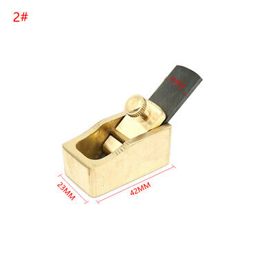 £7.99 • Buy One Rare Brass Flat Bottom 42mm Plane Violin Making Tool ,Woodworking Tools
