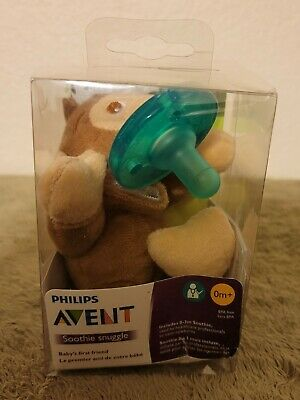 AU16.57 • Buy Philips Avent Monkey Pacifier Soothie Snuggle Plush Animal ( 0 -3 M )