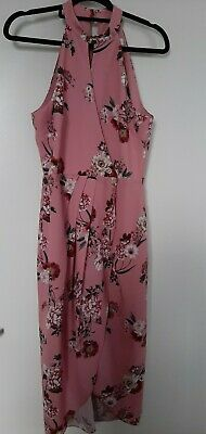 AU40.50 • Buy Forever New Dress Floral High Neck Midi Size 8 As New