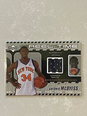 AU3 • Buy 2002-03 Upper Deck Generations Reel Time Jersey - Antonio McDyess #MC-J