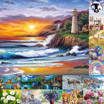 AU18.29 • Buy Full Drill DIY 5D Diamond Painting Embroidery Turtle Cross Stitch Kits Home