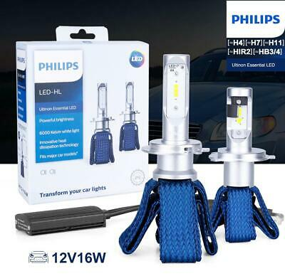 $117.22 • Buy Philips Ultinon LED Set For SUBARU OUTBACK 2005-2014 LOW BEAM