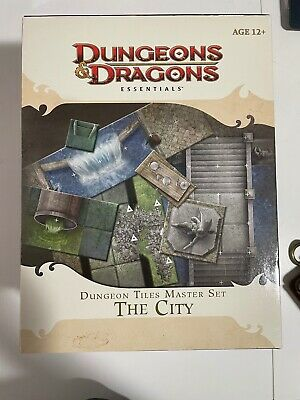 AU55 • Buy Dungeons & Dragons Essentials Dungeon Tiles Master Set -  The City