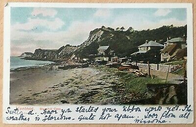 Vintage Postcard Of Steephill Cove Ventnor (8) • 1.99£