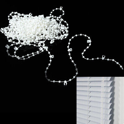 10M Blinds Bead Chain Roman Shade Vertical Curtain Home Window Accessories UK • 6.83£