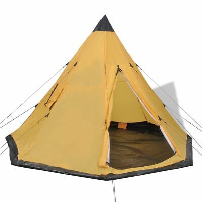 AU93.95 • Buy Camping Tent 4 Person Hiking Outdoor Shelter Tipi Style Travel Portable With Bag
