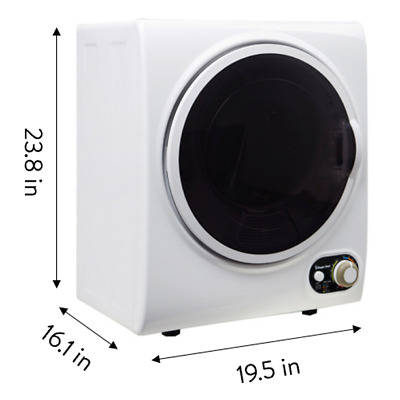 View Details Electric Tumble Compact Laundry Clothes Dryer 1.5 Cu Ft White • 350.00$