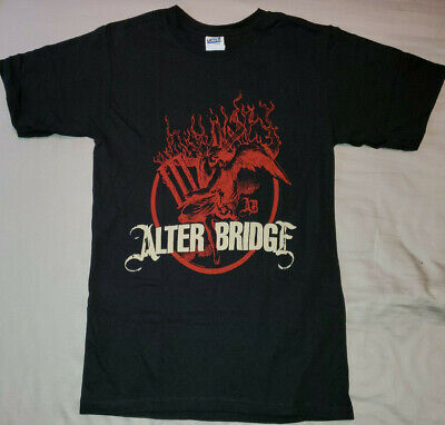 £7.08 • Buy ALTER BRIDGE T-Shirt Red Logo Official/Licensed Band Shirt NEW Size Small