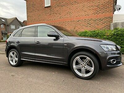 2012 AUDI Q5 S-LINE PLUS 2.0L TDI QUATTRO - ONLY 73k Miles 1 OWNER May SWAP / PX • 11,800£