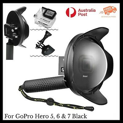 AU74.95 • Buy SHOOT Dome With Sunshade & Dive Housing Case For GoPro Hero 5, 6 & 7 Black AU