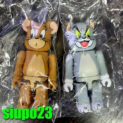 $45.99 • Buy Medicom 100% Bearbrick ~ Series 41 Be@rbrick Tom & Jerry 2pcs