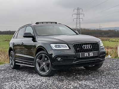 2015 Audi Q5 2.0tdi S Line Plus Quattro Auto 190 Bhp Black Fully Loaded Px Swap  • 16,995£