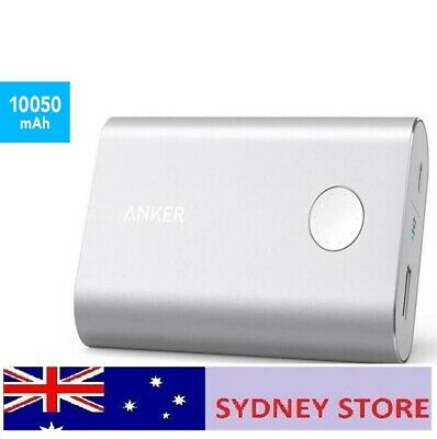 AU35.99 • Buy Anker Powercore+ 10.050mAh Qualcomm 3.0 Power Bank Silver Australia Stock 10.050