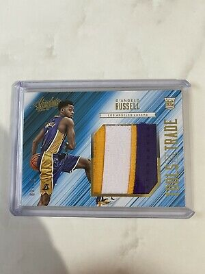 AU84 • Buy D'angelo Russell Rookie Patch Tools Of The Trade