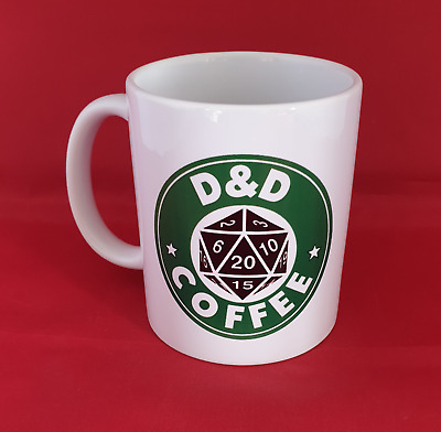 £8.99 • Buy D&D Dungeons And Dragons Inspired Coffee Mug 11oz Fantasy Gaming Table Top