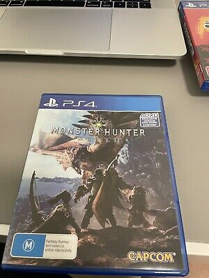 AU15 • Buy Monster Hunter World Ps4
