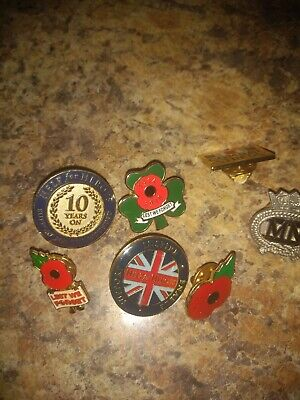 £16 • Buy Help For Heroes And ,WW1 Badges.