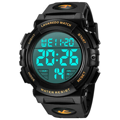 $ CDN11.21 • Buy SKMEI Waterproof Electronic Watch Men Outdoor Sports LED Digital Wristwatch BEST