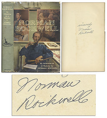 $ CDN478.46 • Buy Norman Rockwell Signed Autobiography Illustrator