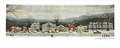 $ CDN2551.80 • Buy Main Street At Christmas Norman Rockwell Signed Print