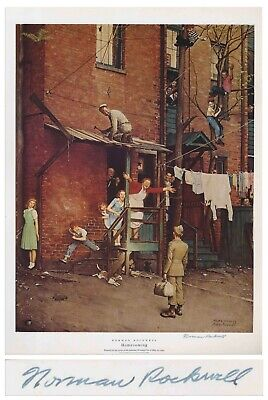 $ CDN1275.90 • Buy Homecoming Norman Rockwell Large Signed Print