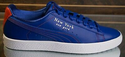 Puma Clyde NYC Knicks Sneakers Blue Orange Size: 11  • 108.03£