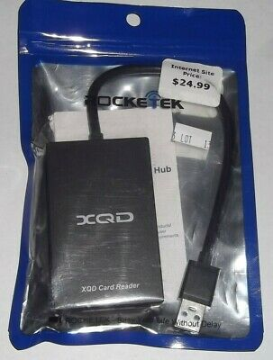 $ CDN25.37 • Buy Rocketek Xqd Card Reader Type C Intyerface Sd Card Adapter For Sony M/g Series