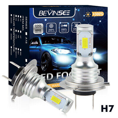 $18.99 • Buy 2x LED Headlight White Bulbs For Suzuki GSXR600 GSXR750 2001 2004 2005 2006 2007