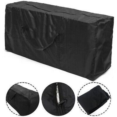 Black Large Waterproof Storage Bag For Outdoor Camping Tent Cushion Equipment UK • 11.99£