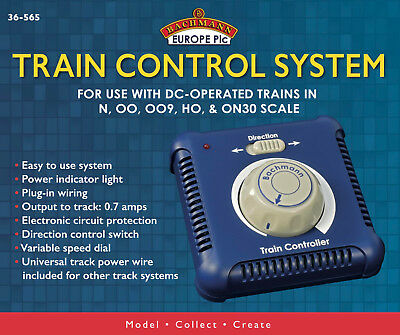 £47.50 • Buy Bachmann 36-565 Single Track OO Train Controller And PSU (Replaces Hornby R8250)