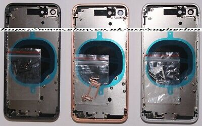 £17.95 • Buy New Iphone 8 Replacement Back Housing Full Alloy Chassis Frame Case Cover