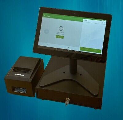 BRAND NEW Touchscreen POS EPOS Cash Till Register System - NO MONTHLY FEES • 359.99£