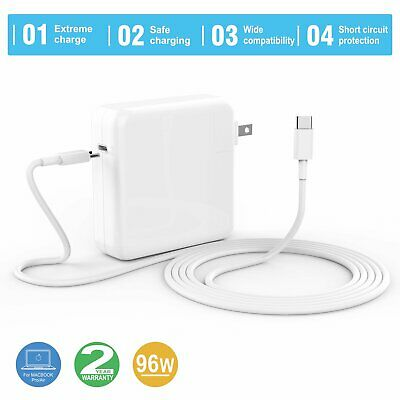 $16.69 • Buy 87W Type C Charger USB C Power Adapter For Mac Book Pro 13 15 Inch 2016 2020 US