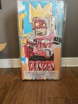 $949 • Buy Be@rbrick JEAN-MICHEL BASQUIAT #6 1000% In Hand Ships Fast!! USA! 100% Authentic