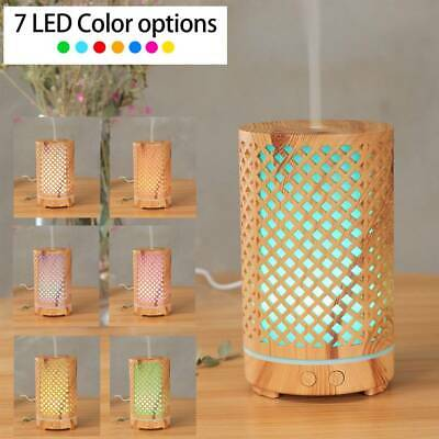 AU36.99 • Buy Oil Diffuser Air Humidifier Purifier Essential Aroma LED Ultrasonic Aromatherapy