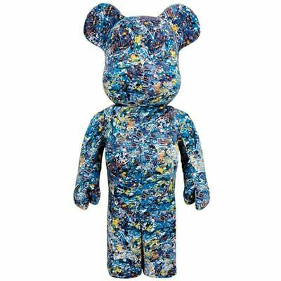 $3254.49 • Buy MEDICOM TOY Jackson Pollock BE@RBRICK Bearbrick 1000% WATER PRINT
