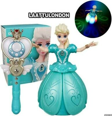 Girls Fairy Princess Doll Magic Infrared Induction Control Kids Toy Uk • 17.99£