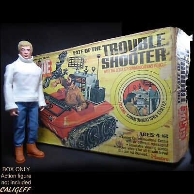 $ CDN165.17 • Buy Vintage 1974 Adventure Team Fate Of The Trouble Shooter ~ BOX ONLY ~ GI Joe
