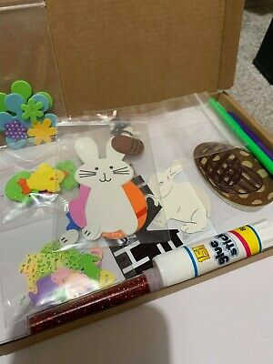 Children's Easter Card Making Kit 2 Cards & Lots Accessories New Free Post Kids  • 6.59£
