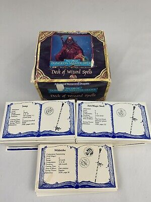 AU44.62 • Buy Adv. Dungeons & Dragons Deck Of Wizard Spells - TSR, Cards