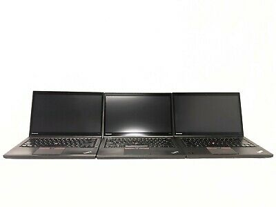 $ CDN1264.23 • Buy LOT Of 3 - Lenovo ThinkPad T450s I7-5600U Touch W/ Back-lit Keyboards & Webcams