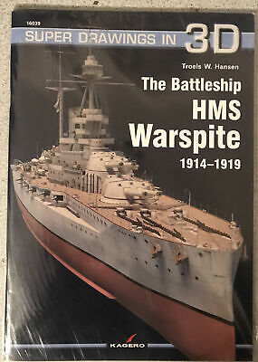 £20 • Buy The Battleship HMS Warspite 1914-1919