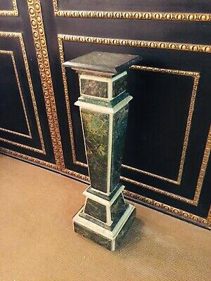 Marble Column IN Louis XV Style Green Beige • 923.82£