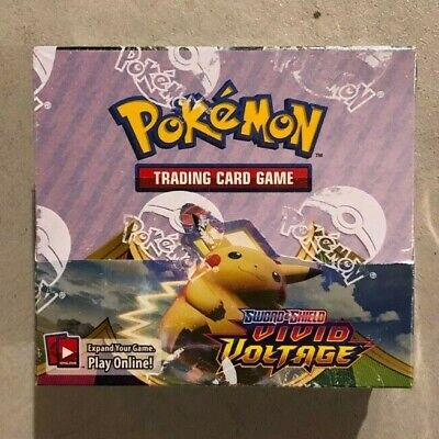 $159.99 • Buy Pokemon TCG: Vivid Voltage BOOSTER BOX | 36 Packs | NEW, FACTORY SEALED