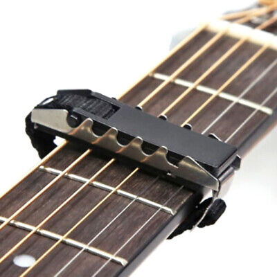 AU7.36 • Buy Acoustic Guitars Ukulele Capo Gear Silver Black Guitar Capo Guitar Access YI