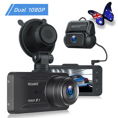 AU87.25 • Buy TOGUARD FHD 1080P Dash Cam Front And Rear Dual Car Recorder Camera 3  IPS Night