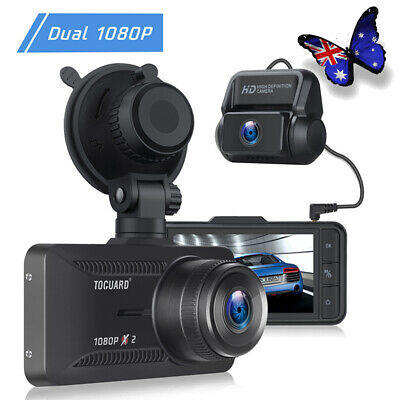 AU87.91 • Buy TOGUARD FHD 1080P Dash Cam Front And Rear Dual Lens Car Recorder Dash Camera AU