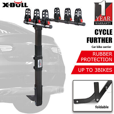 AU109.90 • Buy X-BULL Car Bike Rack Carrier 3/4/5 Rear Bicycle Foldable Hitch Mount Heavy Duty