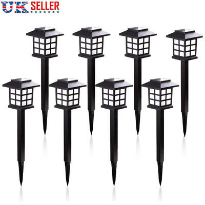 6x Solar Power LED Stake Lights Patio Outdoor Garden Lawn Path Lamp Waterproof • 13.59£